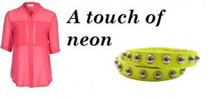 A touch of neon