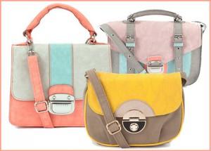 tassen in pastelkleuren