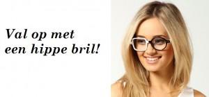 Val op met een hippe bril!