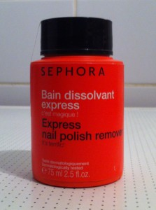 Ideaal: Sephora nagellak remover