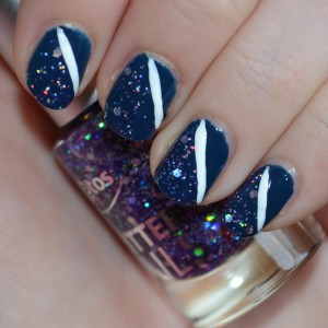 Glitter nagellak combineren