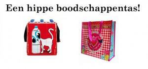 Een hippe boodschappentas!