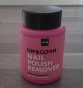 Nu ook handige nagellak remover bij HEMA