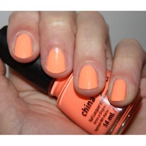 peach nagellak