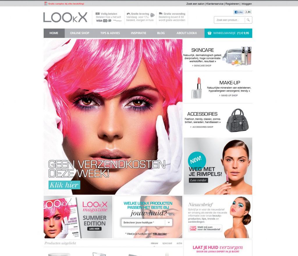 Website lookx