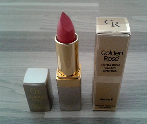 Truly Yours golden rose lippenstift