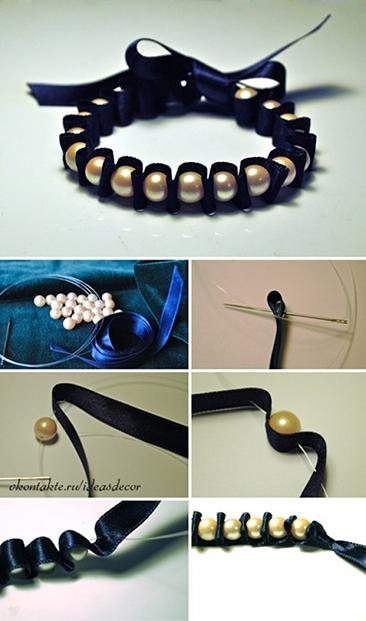 armband met parels