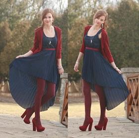 jurk achter lang voor kort
