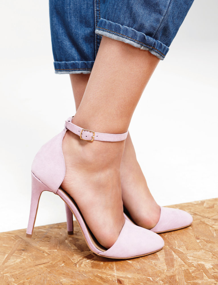primark roze pumps