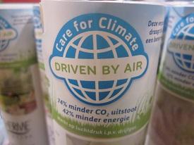 Ecofriendly sprayen