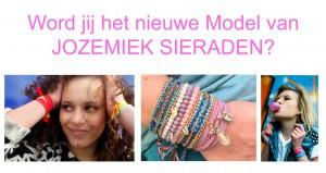 Word jij het nieuwe model van Jozemiek Sieraden?