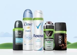 NIEUW Compressed Deodorant