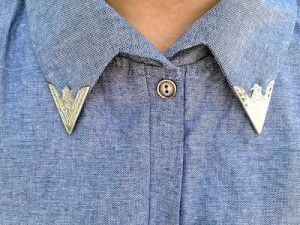 Trend alert: je blouse hoog dicht knopen