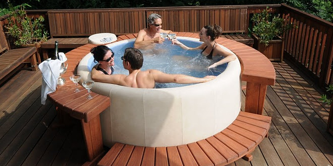 jacuzzi thuis