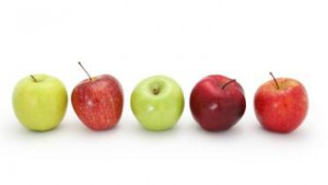 Snoep verstandig, eet een appel?