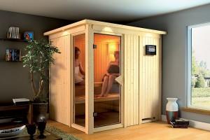 Heerlijk ontspannen in je eigen sauna!