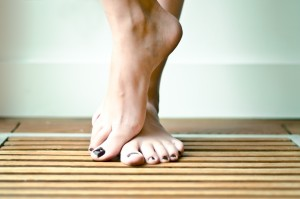 Blije voetjes