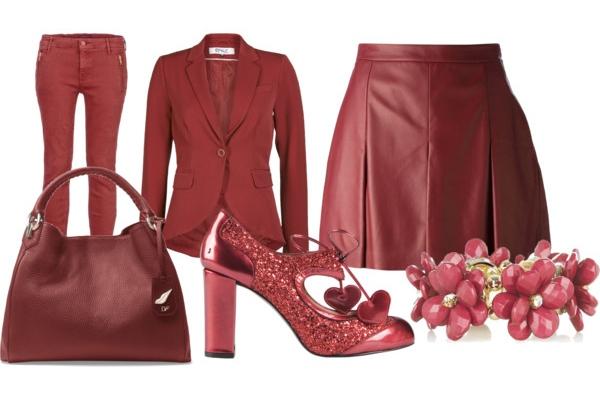 kleding kleur marsala