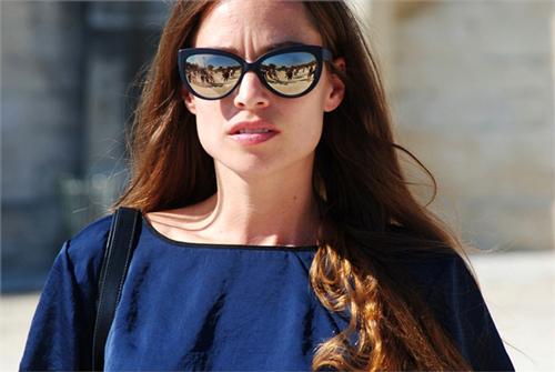 spiegelende zonnebril